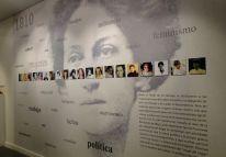 Exposición sobre la mujer en la casa del Bicentenario