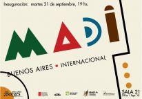 Madí Internacional en el Centro Cultural Borges