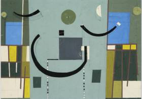 Abstractos y concretos en la colección del Museo Sívori